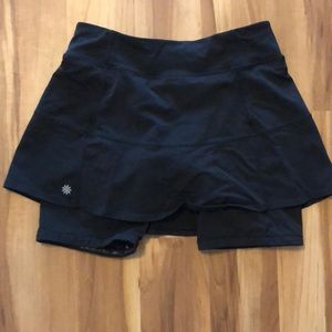 Athleta cycling skirt